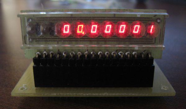 Частотомер - цифровая шкала на PIC16F84