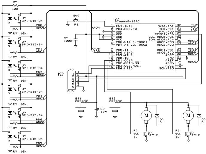 Схема робота