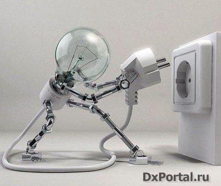 Плавное зажигание лампы накаливания