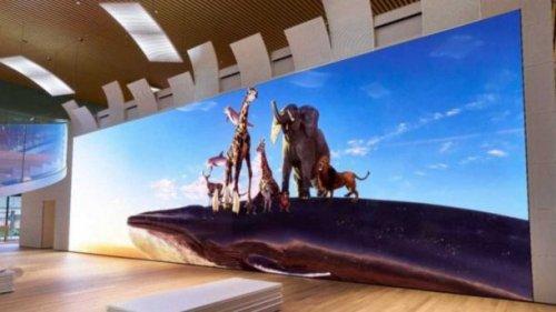 Sony создала ультраширокий экран