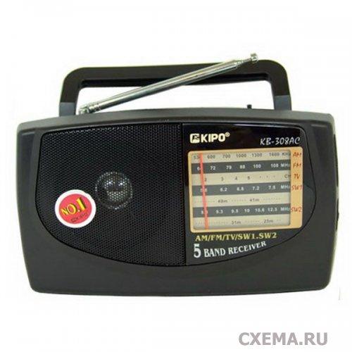 Доработка китайского радиоприемника KIPO