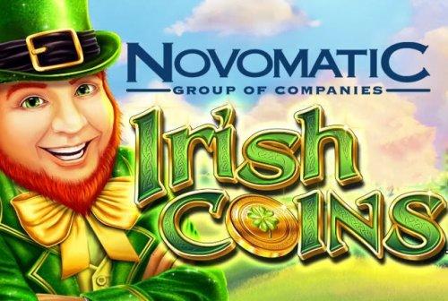Казино Вулкан представляет новый игровой автомат Irish Coins