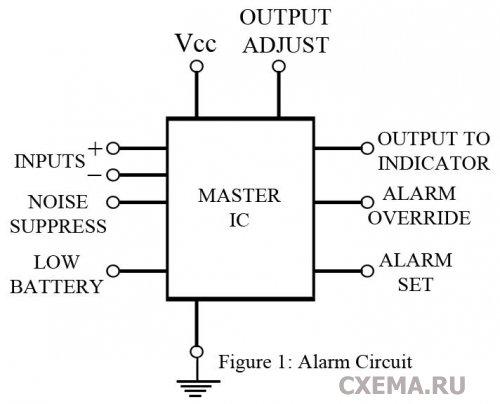 Самая прострая схема дверной сигнализации