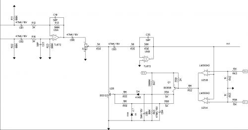 Схема автоматического регулирования громкости