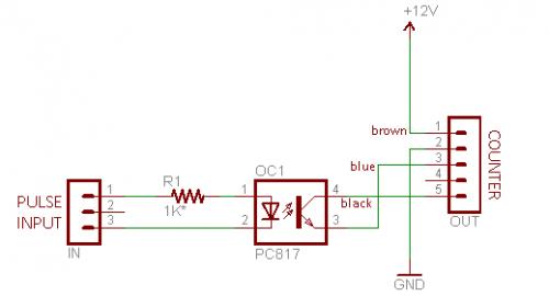 Схема датчика оборотов в минуту